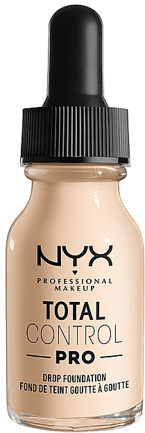 Тональная основа - NYX Professional Total Control Pro Drop Foundation