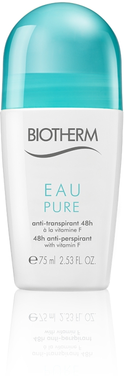 Дезодорант роликовый - Biotherm Roll-On Anti-Perspirant Eau Pure