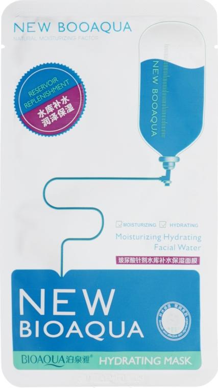 Маска для лица с гиалуроновой кислотой - Bioaqua New Hydrating Mask