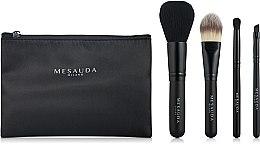 Духи, Парфюмерия, косметика Набор кистей для макияжа, 4 шт - Mesauda Milano Staple Brush Set