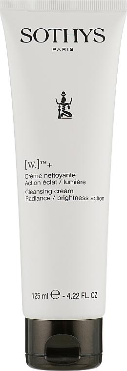 Отбеливающий крем-мусс - Sothys Cleansing cream Radiance/brightness action