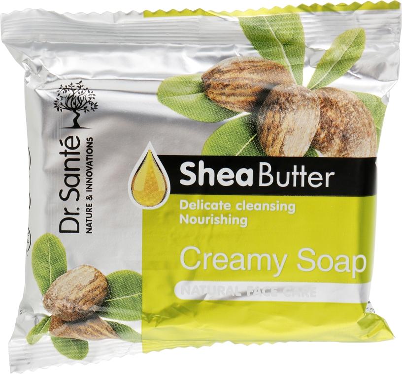 Крем-мыло с маслом ши для лица - Dr. Sante Cream Soap