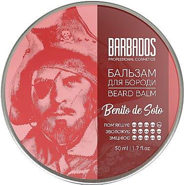 Бальзам для бороды - Barbados Pirates Beard Balm Benito De Soto