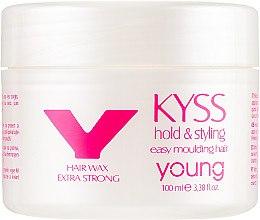 Духи, Парфюмерия, косметика Экстра сильный воск для волос - Young Kyss Hair Wax Hold & Styling