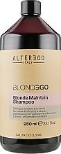 Духи, Парфюмерия, косметика Шампунь против желтизны для осветленных волос - Alter Ego Blondego Blonde Maintain Shampoo