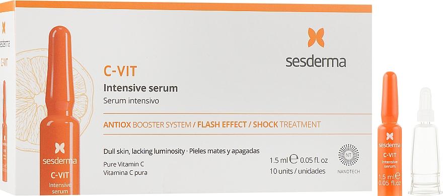 Интенсивная сыворотка мгновенной красоты - SeSDerma Laboratories C-Vit Intensive Serum Flash Effect