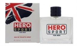 Духи, Парфюмерия, косметика Hero For Men Sport Limit. - Туалетная вода (тестер с крышечкой)