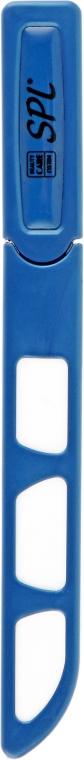 Пилочка хрустальная в пластиковом чехле 98-1352, 135 мм, синяя - SPL