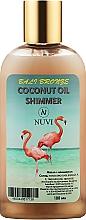 Духи, Парфюмерия, косметика Мерцающее масло с шиммером для активации загара - Nuvi Bali Bronze Coconut Oil Shimmer