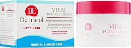 Духи, Парфюмерия, косметика Крем смягчающий восстанавливающий для нормальной и комбинированной кожи - Dermacol Face Care Vital Balance
