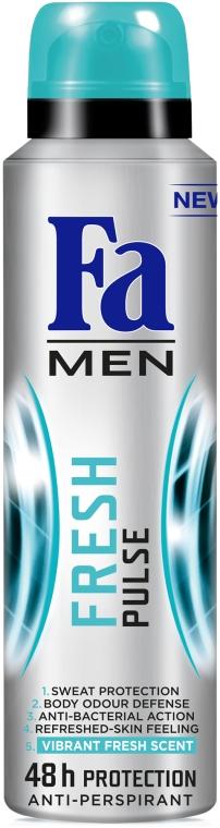"Антиперспирант ""Fresh Pulse"" - Fa Men Fresh Pulse"