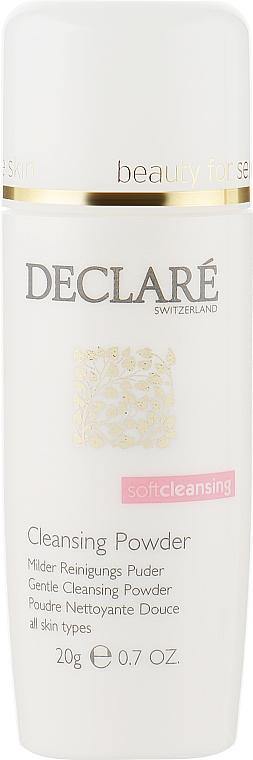 Мягкая очищающая пудра - Declare Gentle Cleansing Powder