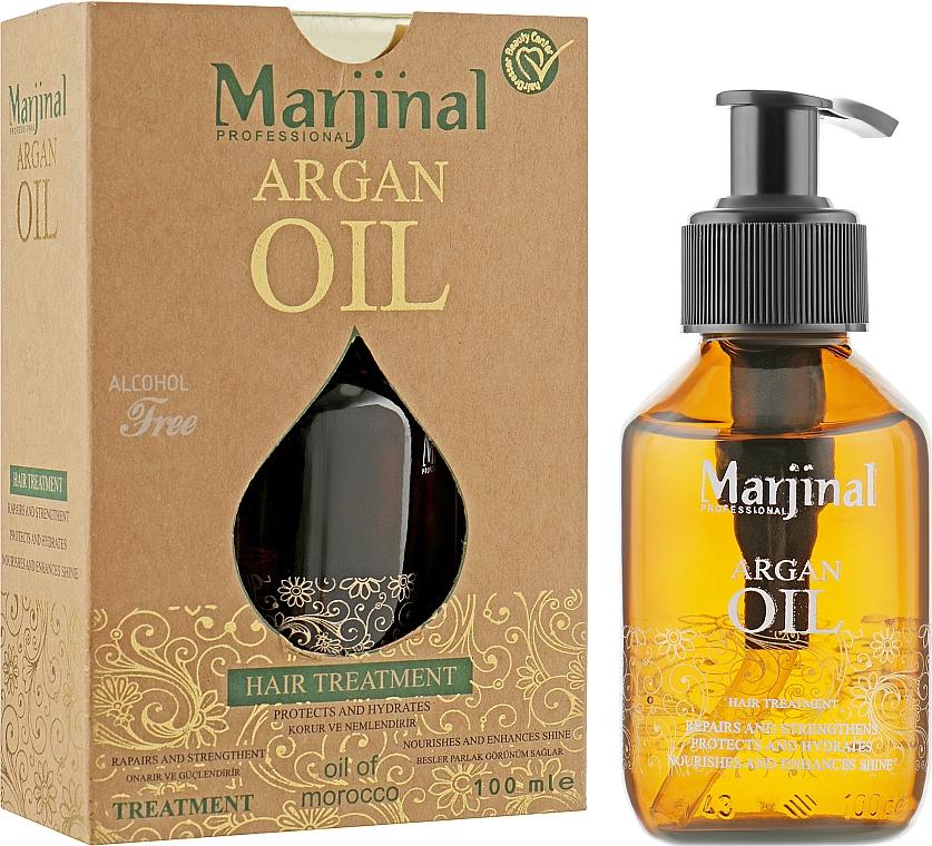Арганное масло для волос - Marjinal Argan Oil Hair Treatment