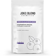 Альгинатная маска с черникой и ацеролой - Joko Blend Premium Alginate Mask — фото N3