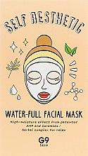 Духи, Парфюмерия, косметика Увлажняющая маска для лица - G9Skin Self Aesthetic Water-full Facial Mask
