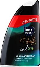 Духи, Парфюмерия, косметика Шампунь-гель для душа 2 в 1 - Idraderm Cool Shower Shampoo