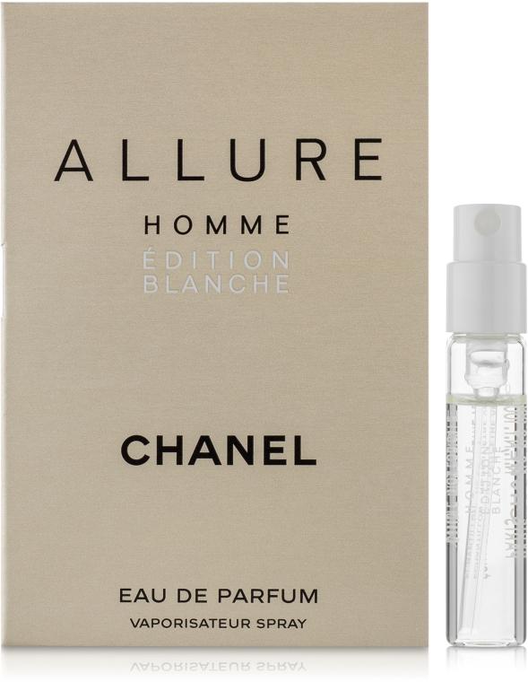 Chanel Allure Homme Edition Blanche - Парфюмированная вода (пробник)