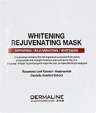 Духи, Парфюмерия, косметика Отбеливающая и омолаживающая маска для лица - Dermaline Premium Rejuvenating Mask