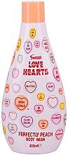Духи, Парфюмерия, косметика Гель для душа - Swizzels Love Hearts Perfectly Peach Shower Gel