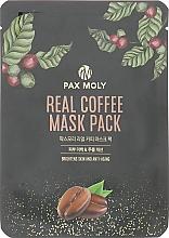 Духи, Парфюмерия, косметика Маска тканевая с экстрактом кофе - Pax Moly Real Coffee Mask Pack