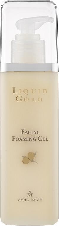 «Золотий» очищуючий гель для обличчя - Anna Lotan Liquid Gold Facial Foaming Gel — фото N1