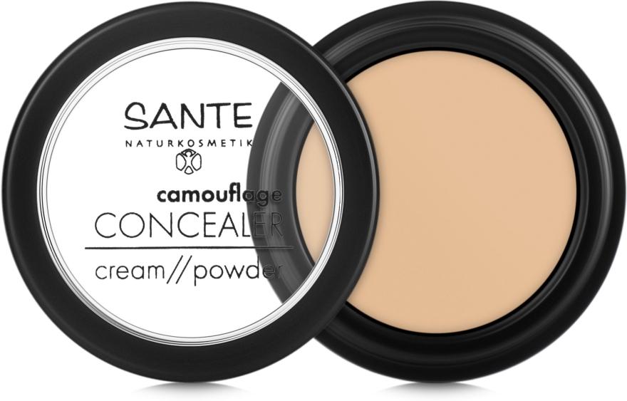 Био-консилер маскирующий - Sante Concealer Cream/Powder