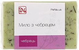 Духи, Парфюмерия, косметика Антисептическое травяное мыло с чебрецом - PeNa Soap