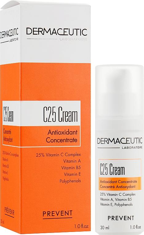 Антиоксидантний концентрат - Dermaceutic Laboratoire C25 Cream Antioxidant Concentrate — фото N1
