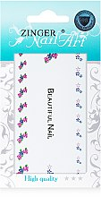 Духи, Парфюмерия, косметика Наклейки для дизайна ногтей, fda-46 - Zinger Nail Art Sticker 144