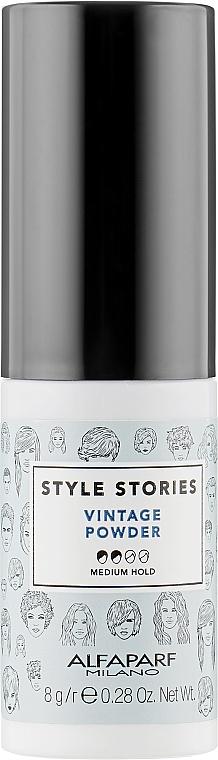 Пудра для объема волос - Alfaparf Style Stories Vintage Powder
