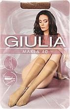 """Духи, Парфюмерия, косметика Гольфы для женщин """"Marea Gambaletto"""" 40 Den, 2 пары, caramel - Giulia"""