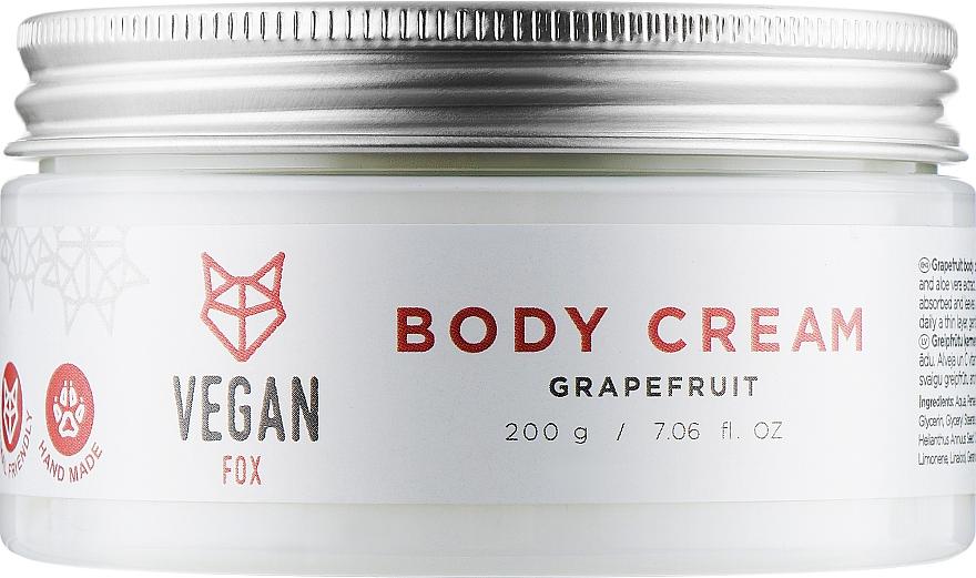 """Крем для тела """"Грейпфрут"""" - Vegan Fox Red Grapefruit Cream"""