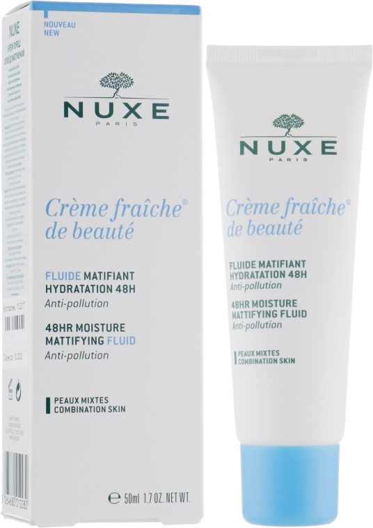 "Крем-фреш ""Матирующий флюид"" - Nuxe Creme Fraiche de Beaute"