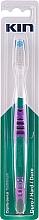 Духи, Парфюмерия, косметика Зубная щетка жесткая, фиолетовый - Kin Hard Toothbrush