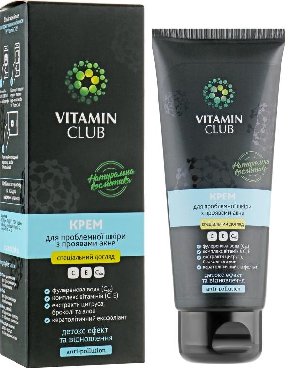 Крем для проблемной кожи лица с проявлениями акне - VitaminClub