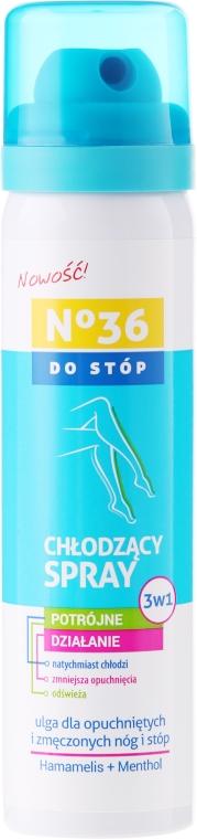 Охлаждающий спрей для ног 3в1 - Pharma CF No36 Foot Spray 3In1
