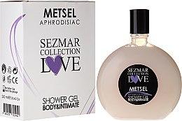 Духи, Парфюмерия, косметика Гель для душа - Hristina Cosmetics Sezmar Love Metsel Aphrodisiac Shower Gel
