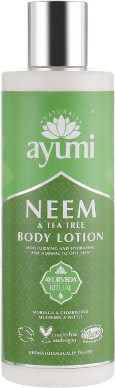Лосьон для тела - Ayumi Neem & Tea Tree Body Lotion