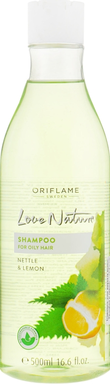 """Шампунь для жирных волос """"Крапива и лимон"""" - Oriflame Love Nature Shampoo"""