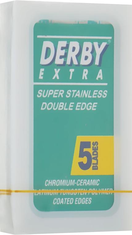 Лезвия, 5 шт. - Derby Extra Blades