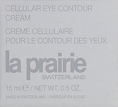 Духи, Парфюмерия, косметика Антивозрастной крем для кожи вокруг глаз - La Prairie Cellular Eye Contour Cream