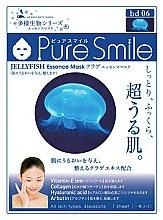 Духи, Парфюмерия, косметика Регенерирующая маска для лица с эссенцией медузы - Pure Smile Living Essences Face Mask