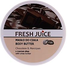 "Духи, Парфюмерия, косметика Масло для тела ""Шоколад и марципан"" - Fresh Juice Body Butter Chocolate & Marzipan With Shea Butter"