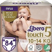 Духи, Парфюмерия, косметика Подгузники Touch 5 (10-14 кг), 84 шт - Libero