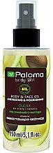 "Духи, Парфюмерия, косметика Масло для тела и лица ""Энергия и питание"" - Paloma Body SPA Body Butter"
