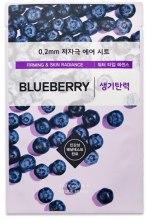 Духи, Парфюмерия, косметика Ультратонкая маска для лица с экстрактом черники - Etude House Therapy Air Mask Blueberry