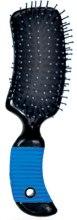 Духи, Парфюмерия, косметика Расческа для ежедневного ухода Large, прямоугольная, синяя - Ласковая