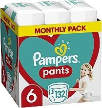 Духи, Парфюмерия, косметика Подгузники-трусики Pants Размер 6 (Extra Large) 15+ кг, 132 шт - Pampers