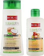Духи, Парфюмерия, косметика Набор - Bioblas Botanic Oils Coconut Oil Shampoo (shm/360ml + shm/150ml)