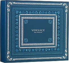 Духи, Парфюмерия, косметика Versace Man Eau Fraiche - Набор (edt/100ml + sh/gel/150ml + edt/10ml)